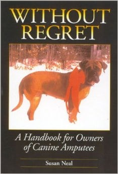 without regret dog amputation book