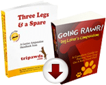 tripawds e-books, videos, podcasts