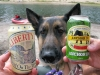 Which Beer does Wyatt want? Neither, he wants to swim!