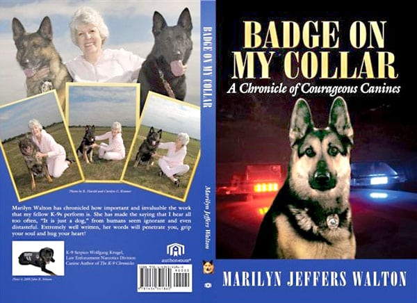 Badge on My Collar: A Chronicle of Courageous Canines on Amazon.com