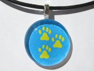Tripawds Three Paw Etsy Pendant