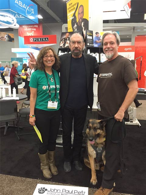 Team Tripawds with John Paul Mitchell