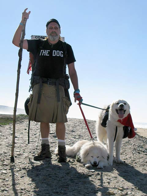 Luke Robinson reaches Mexico after 2000 mile walk