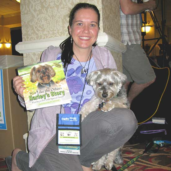 Harley's Story, Denise Gruzensky, specially-abled pets, handicapped,