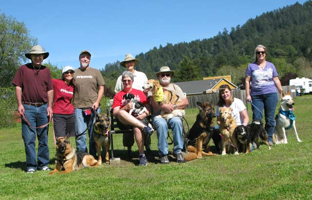 Tripawds, party, Northern California