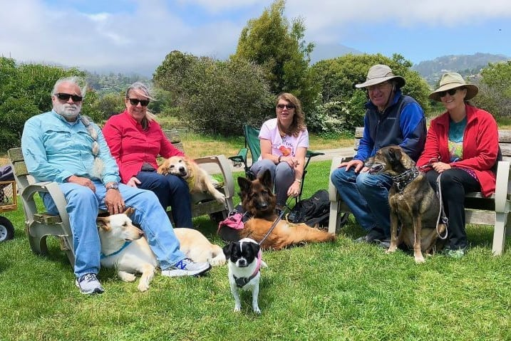 Tripawds Mill Valley CA party