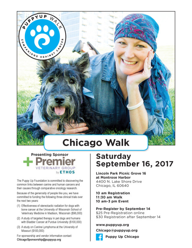tripawds Puppy Up Chicago