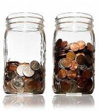 penny jars