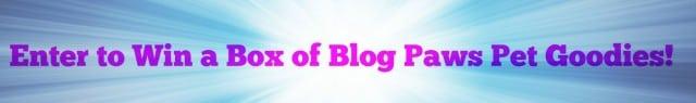 Win Blog Paws Goodies
