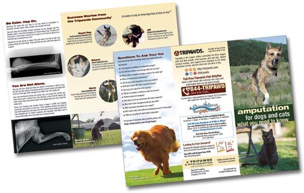 Tripawds Brochures