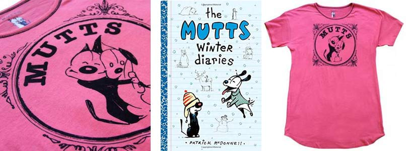 Mutts Sleep Shirt and Winter Diaries