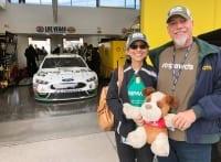 One Cure Car #14 at Las Vegas 400