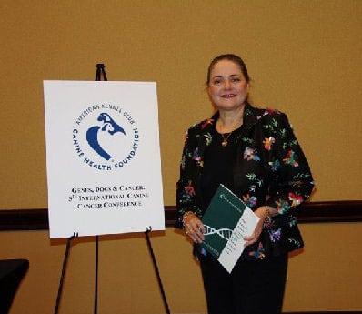 Sandra Thomas ACK Canine Genetics Conference