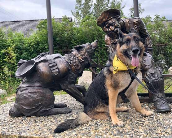 Wyatt visits Skagway, Alaska