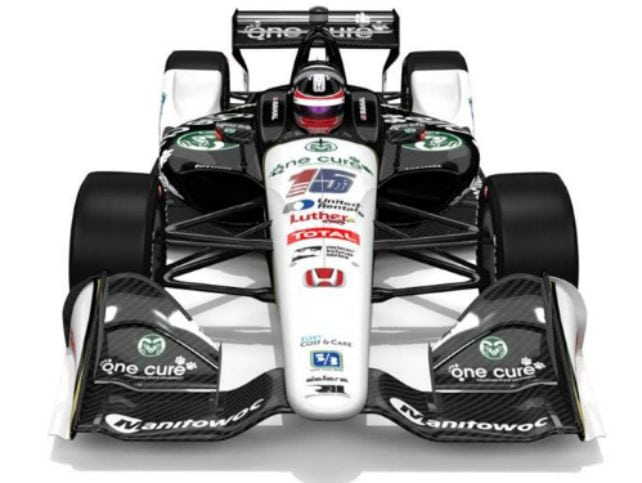 #OneCancerOneCure Indy Car
