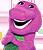 Original Barney Doll