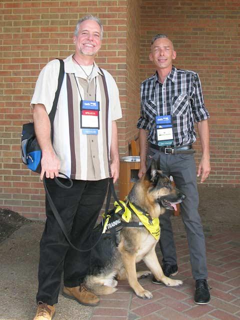 Dog and His Boy, Bernard Lima-Chavez, Tripawds, Blog Paws