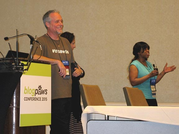 Blog Paws, conference, tripawds, JIm Nelson