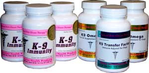 K9 Immunity Transfer Factor and K9 Omega