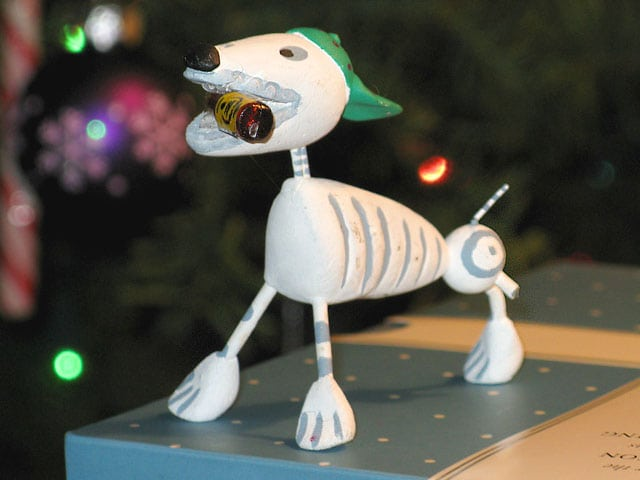 2009 Christmas Tripawd Dog