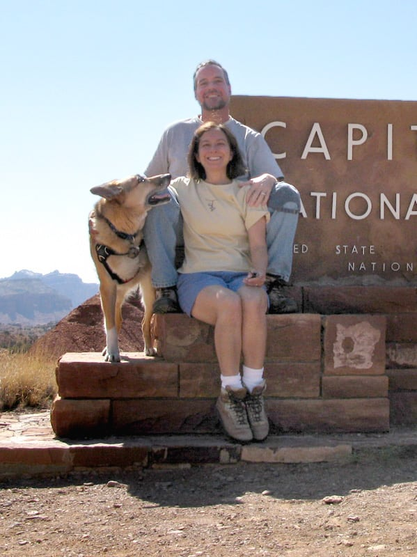 Jerry Makes it to Capitol Reef National Park