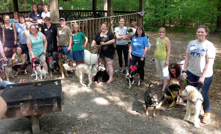 tripawds community support party