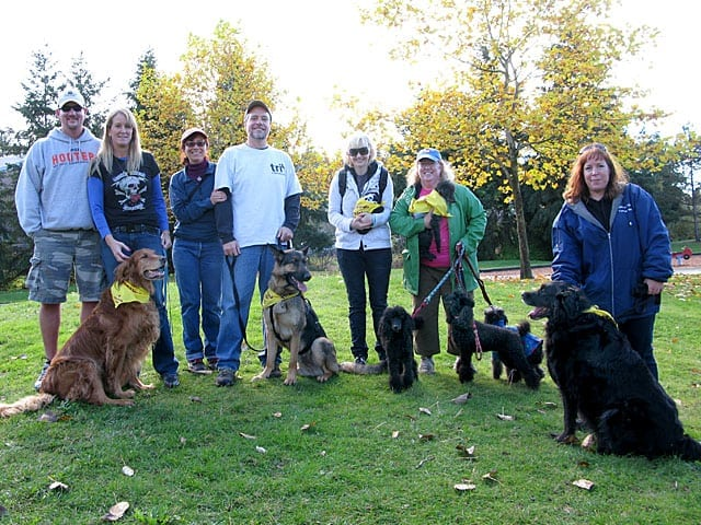 Morris, Walk, canine cancer, fundraising
